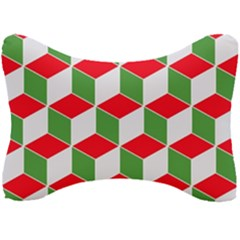 Christmas Abstract Background Seat Head Rest Cushion by Wegoenart