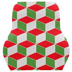 Christmas Abstract Background Car Seat Back Cushion