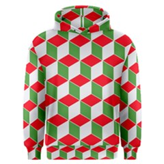 Christmas Abstract Background Men s Overhead Hoodie