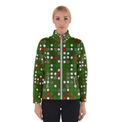1960 s Christmas Background Winter Jacket