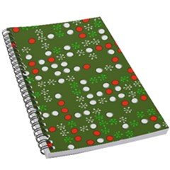 1960 s Christmas Background 5 5  X 8 5  Notebook New by Wegoenart