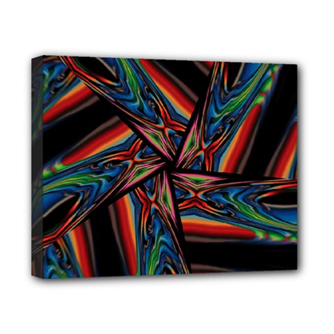Abstract Art Pattern Canvas 10  X 8  (stretched)