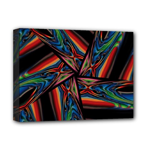 Abstract Art Pattern Deluxe Canvas 16  X 12  (stretched)