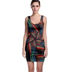Abstract Art Pattern Bodycon Dress