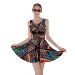 Abstract Art Pattern Skater Dress