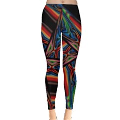 Abstract Art Pattern Leggings