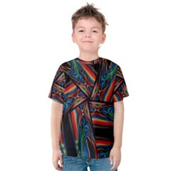 Abstract Art Pattern Kids  Cotton Tee