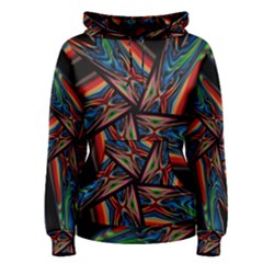 Abstract Art Pattern Women s Pullover Hoodie
