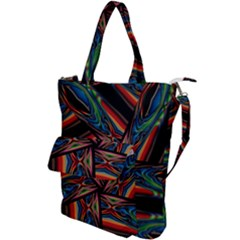 Abstract Art Pattern Shoulder Tote Bag