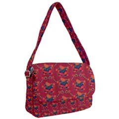 Christmas Pattern Courier Bag