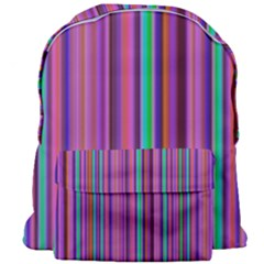 Stripes Wallpaper Texture Giant Full Print Backpack