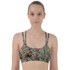 Fish Underwater Cubism Mosaic Line Them Up Sports Bra by Wegoenart