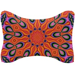 Art Abstract Background Pattern Seat Head Rest Cushion