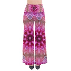 Flower Mandala Art Pink Abstract So Vintage Palazzo Pants