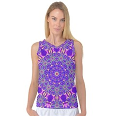 Art Abstract Background Women s Basketball Tank Top