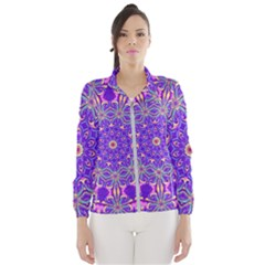 Art Abstract Background Windbreaker (women)