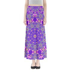 Art Abstract Background Full Length Maxi Skirt