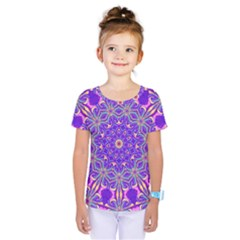 Art Abstract Background Kids  One Piece Tee