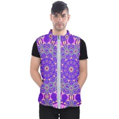 Art Abstract Background Men s Puffer Vest