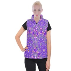 Art Abstract Background Women s Button Up Vest