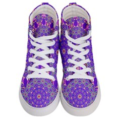 Art Abstract Background Women s Hi Top Skate Sneakers