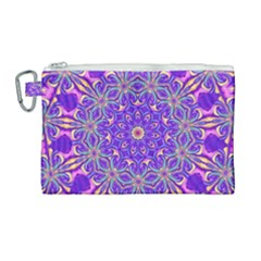 Art Abstract Background Canvas Cosmetic Bag (large)