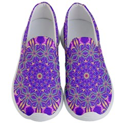 Art Abstract Background Men s Lightweight Slip Ons