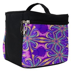 Art Abstract Background Make Up Travel Bag (small)