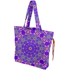 Art Abstract Background Drawstring Tote Bag