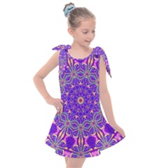 Art Abstract Background Kids  Tie Up Tunic Dress