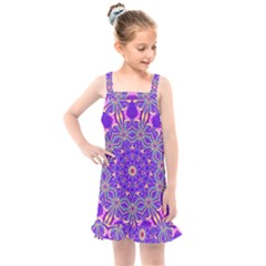 Art Abstract Background Kids  Overall Dress