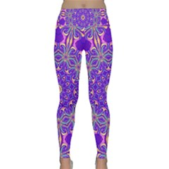 Art Abstract Background Lightweight Velour Classic Yoga Leggings