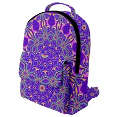 Art Abstract Background Flap Pocket Backpack (small)