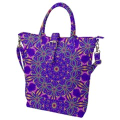 Art Abstract Background Buckle Top Tote Bag