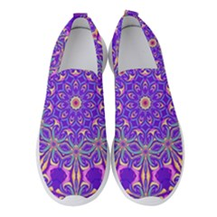 Art Abstract Background Women s Slip On Sneakers