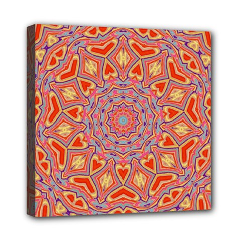 Art Abstract Background Mini Canvas 8  X 8  (stretched)