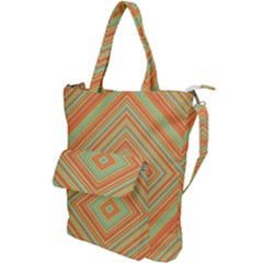 Geometric Art Abstract Background Shoulder Tote Bag