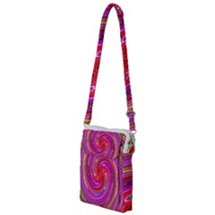 Abstract Art Abstract Background Multi Function Travel Bag by Wegoenart