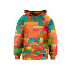 Pattern Texture Background Color Kids  Pullover Hoodie