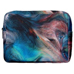 Background Art Abstract Watercolor Make Up Pouch (large)