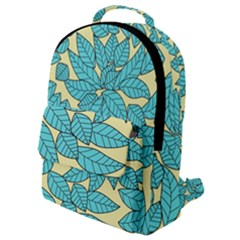 Leaves Dried Leaves Stamping Flap Pocket Backpack (small)