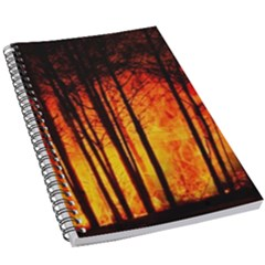 Forest Fire Forest Climate Change 5 5  X 8 5  Notebook New by Wegoenart