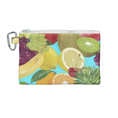 Fruit Picture Drawing Illustration Canvas Cosmetic Bag (medium)