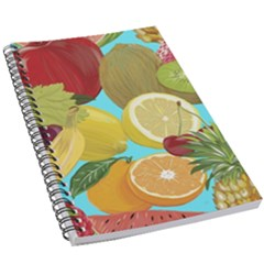 Fruit Picture Drawing Illustration 5 5  X 8 5  Notebook New by Wegoenart
