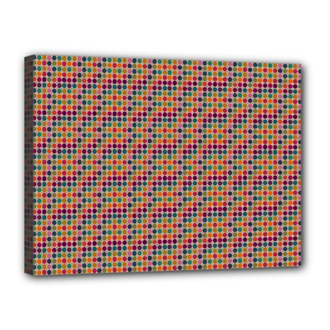 Colorful Background Colorful Backdrop Canvas 16  X 12  (stretched) by Wegoenart