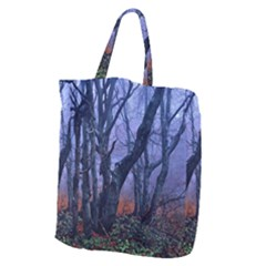 Beeches Autumn Foliage Forest Tree Giant Grocery Tote