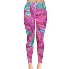 Leaves Tropical Reason Stamping Leggings