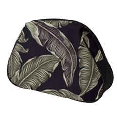 Jungle Leaves Tropical Pattern Full Print Accessory Pouch (small)