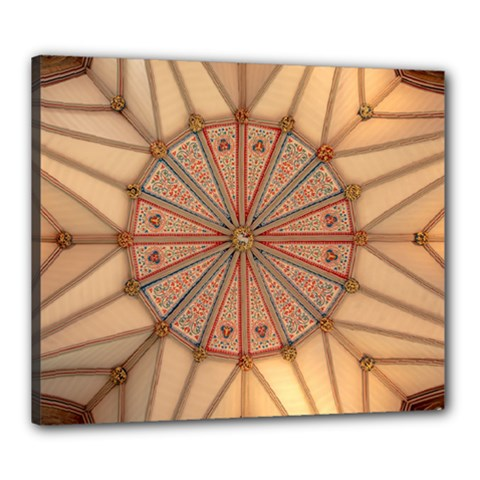 York Minster Chapter House Canvas 24  X 20  (stretched)