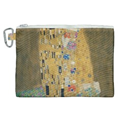 Klimt   The Kiss Canvas Cosmetic Bag (xl)